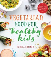 Boekomslag van 'Vegetarian Food for Healthy Kids'