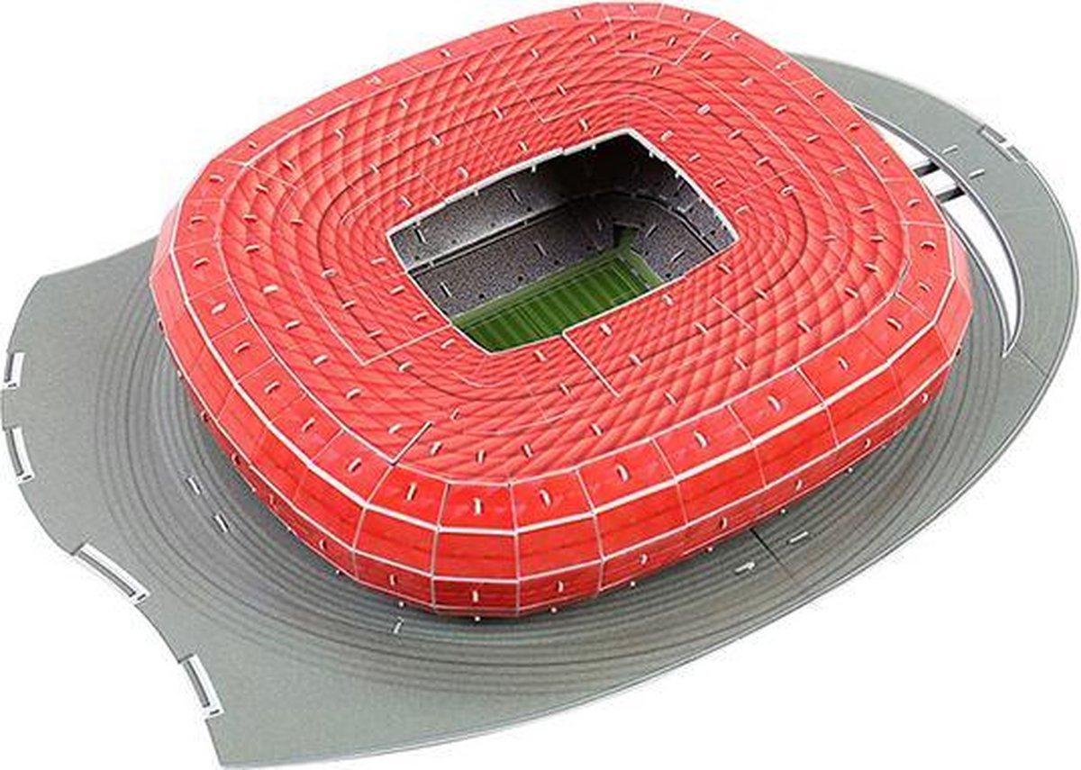 3D puzzel voetbalstadion Bayeren Munchen - Germany Munich Football Stadium - Duitsland - foam - voetbal - 3D puzzel