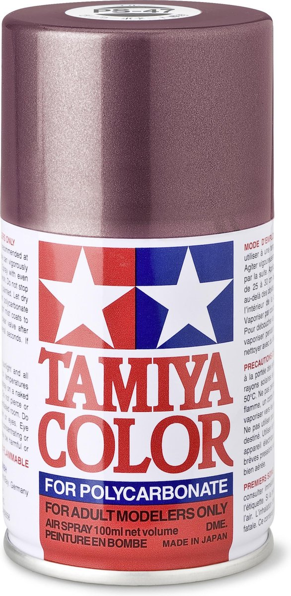 TAMIYA PS-47 Roze/goud (2-tone) (spuitbus 100ml)
