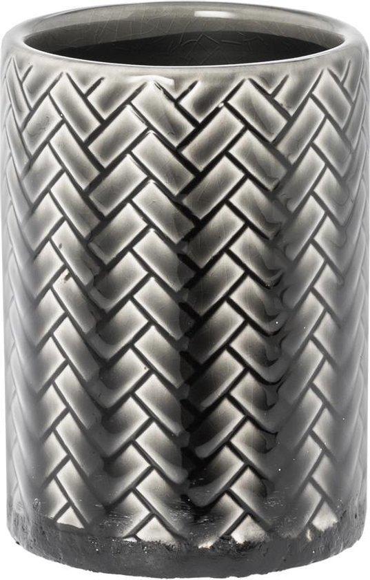 Bloempot Rusty grijs 12cm