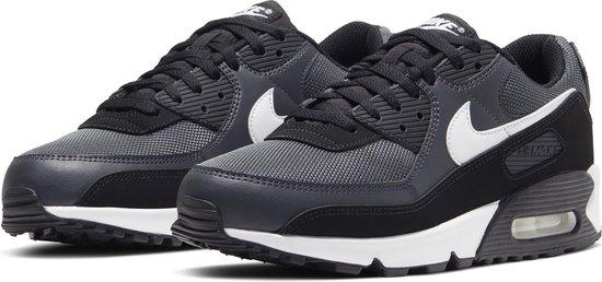 Nike Sneakers - Maat 44.5 - Mannen - donker grijs/ zwart/ wit