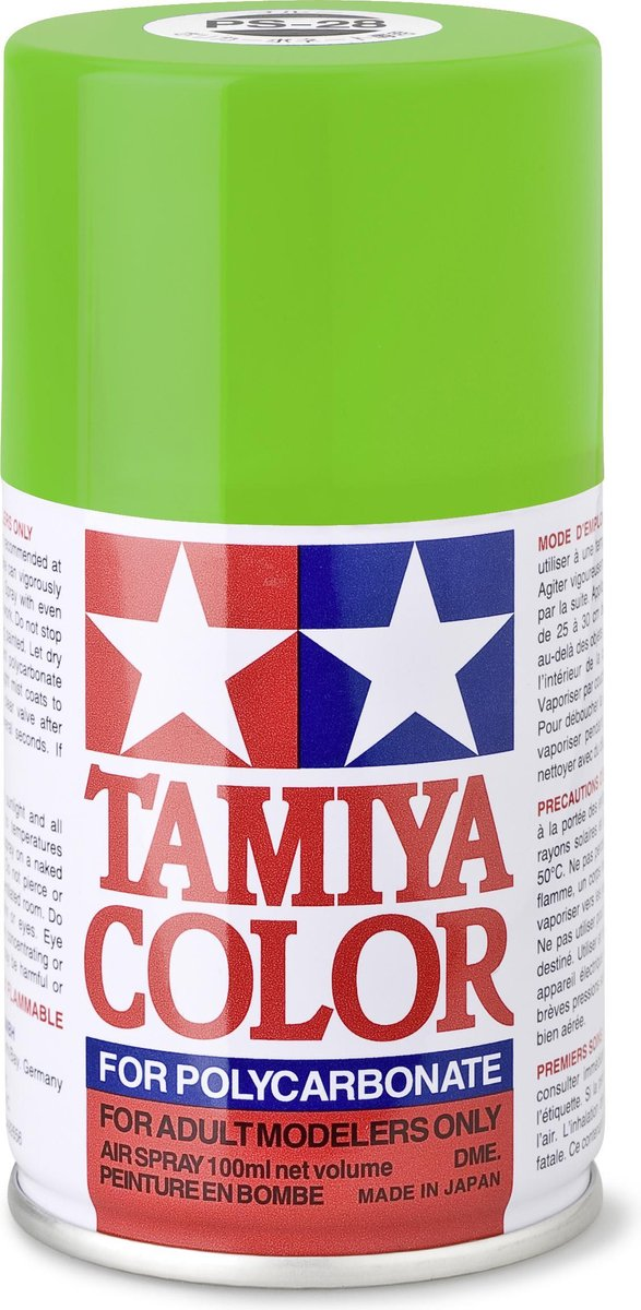 TAMIYA PS-28 Fluor groen (spuitbus 100ml)
