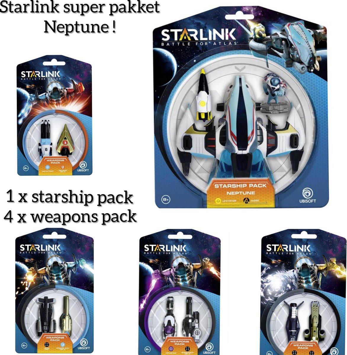 COMPLEET VOORDEEL PAKKET > Starlink - Starship Pack: Neptune INCLUSIEF 4 DUO WAEPONS PAKKETTEN (GRATIS VERZENDING) kopen