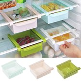 Koelkast Organizer L - Roze/Pink - Fridge Accessoire - Opruimer/Vriezer/Bakjes - 14cm x 12cm x 5cm
