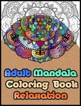 adult mandala coloring book relaxation