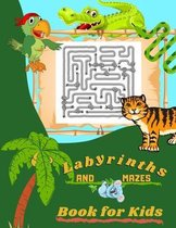 Labyrinths and Mazes Book for Kids