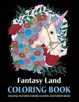 Fantasy Land Coloring Book