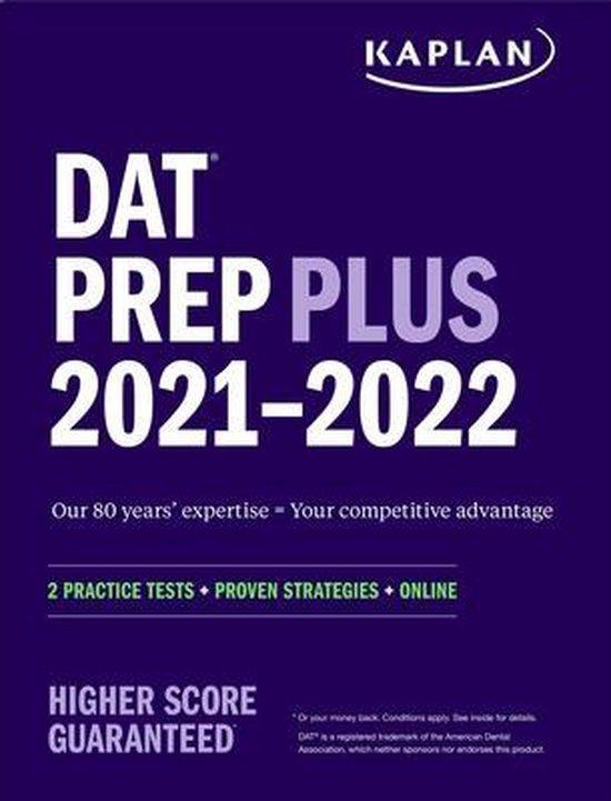 Boek cover DAT Prep Plus 2021-2022 van Kaplan Test Prep