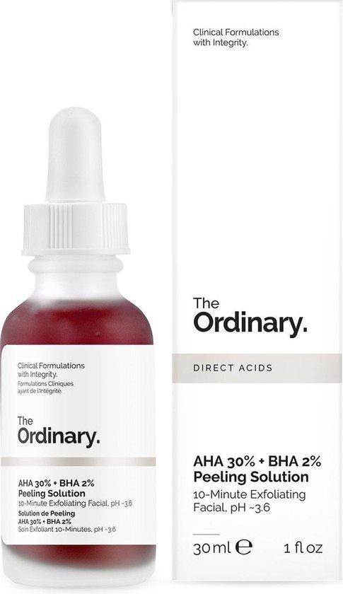 The Ordinary Exfoliant - Peeling - AHA 30% - BHA 2% - Vitamine B5