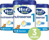 Hero Baby Nutrasense zuigelingenvoeding 1 (0-6m) 3 STUKS