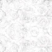 Kaisercraft • paper 30,5x30,5cm Two souls white rose