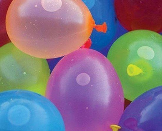 Waterballon assortiment (100 ST)   Voordeelpakket
