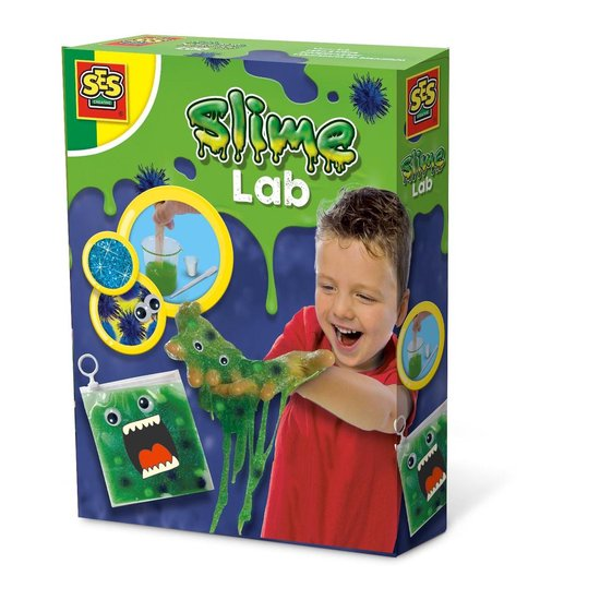 Ses Creative Slijm Lab – Monster Groen 10-delig