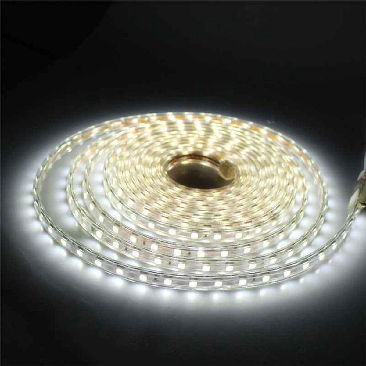 1 meter 220V LED strip, wit, IP65