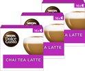 Nescafé Dolce Gusto capsules Chai Tea Latte - 48 koffiecups - geschikt voor 24 koppen