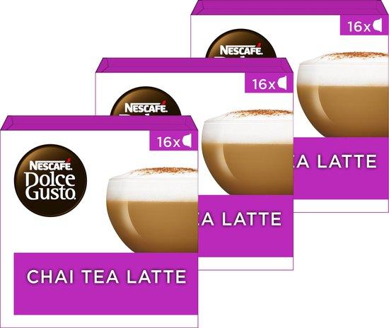 NESCAFÉ® Dolce Gusto® Chai Tea Latte - 3 doosjes à 16 capsules geschikt voor 24 koppen