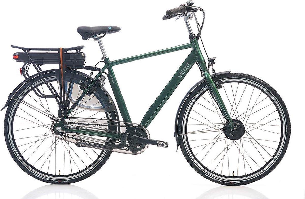 Villette le Plaisir elektrische fiets - donkergroen - Framemaat 54 cm