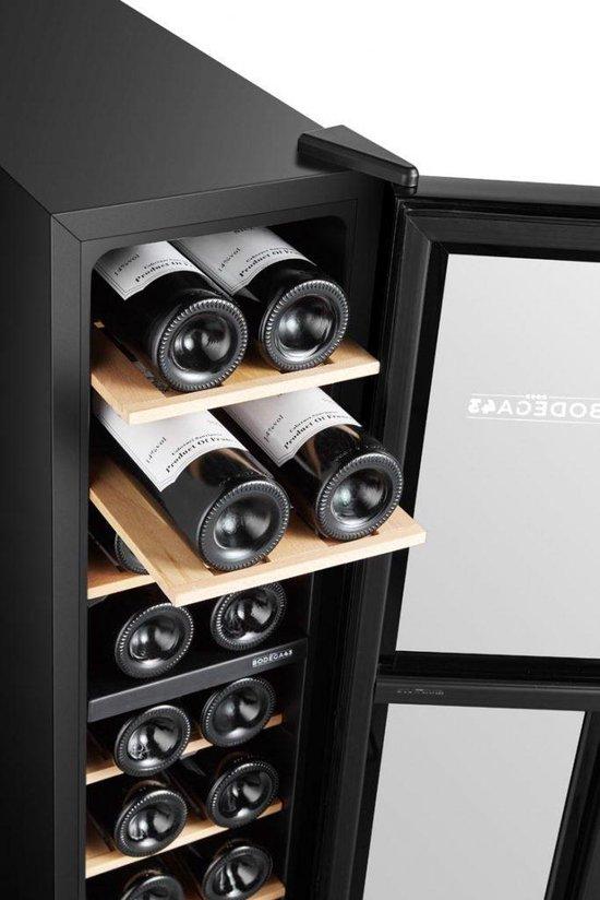 B4318 - Wijnkoelkast - 18 flessen