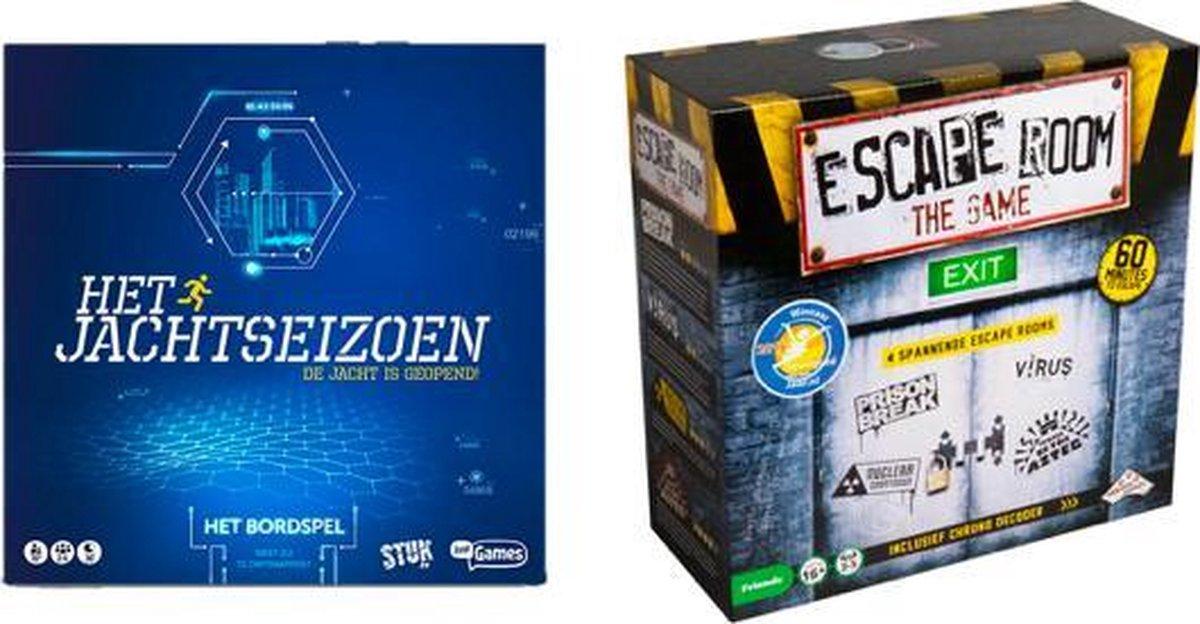 Spelvoordeelset Het Jachtseizoen Bordspel & Escape Room - Basisspel