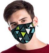 Mondkapje | mondmasker | gezichtsmasker | is van katoen, herbruikbaar, wasbaar mondkapje. Geschikt voor OV