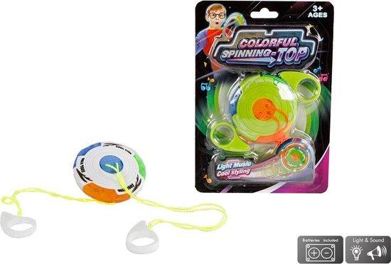 Afbeelding van het spel Spinning Top Jojo met Licht en Geluid