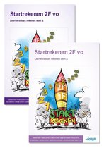 Startrekenen 2F vo - Leerwerkboek deel A + B