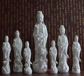 Kwan Yin - Guan Yin -boeddha- staand witte 29cm. porselein