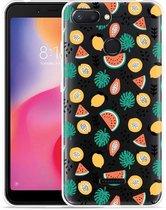 Xiaomi Redmi 6 Hoesje Tropical Fruit