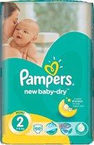 Pampers New Baby Dry luiers maat 2 (3 tot 6 kg) - 66 stuks