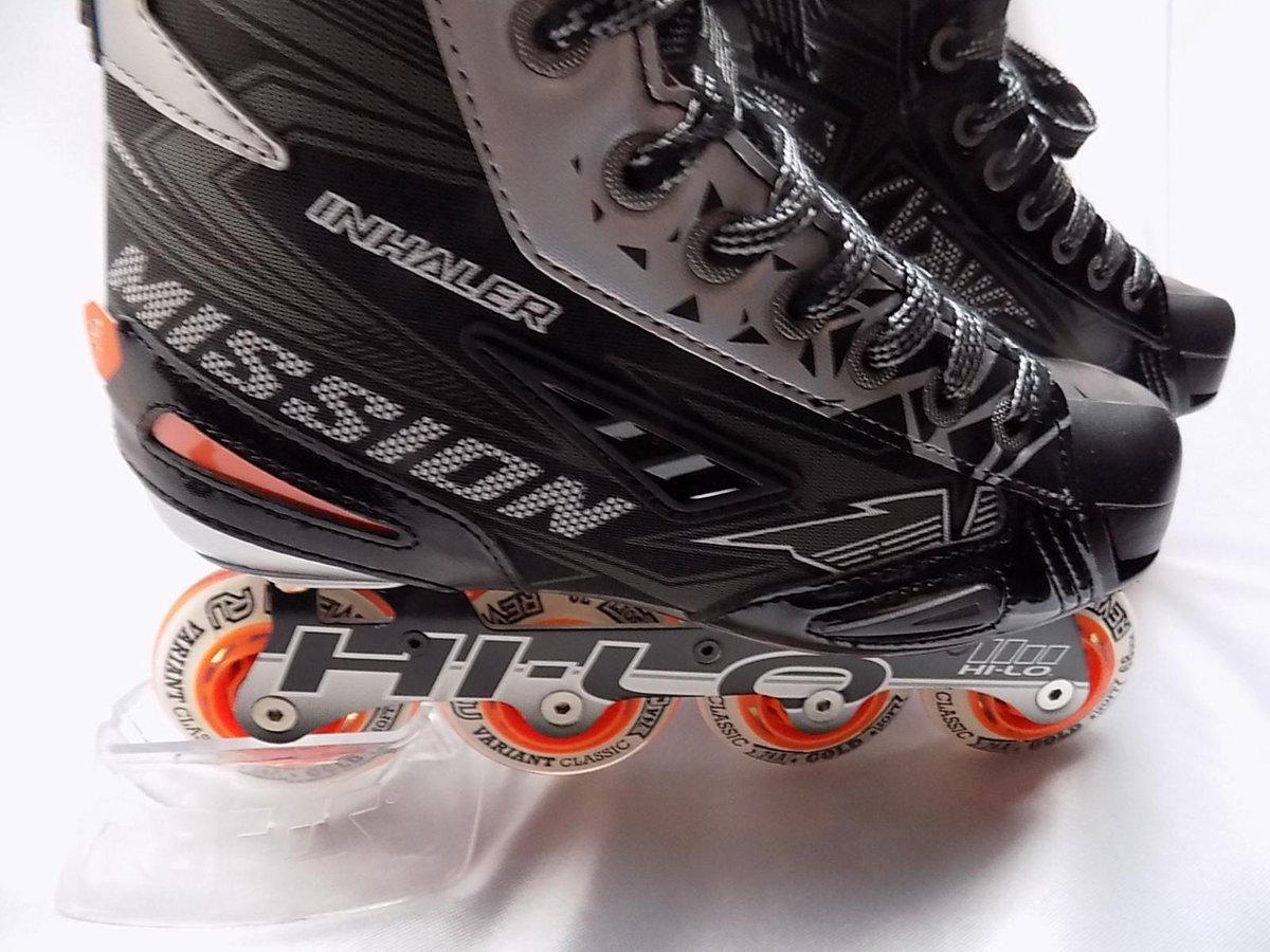 Streethockey skate Mission RH Inhaler NLS:03 maat 38,5