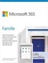 Microsoft 365 Family - Frans - 1 jaar abonnement