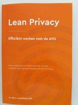 Lean Privacy, efficient werken met de AVG