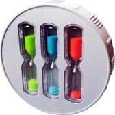 EcoSavers ShowerTimer Hourglass 3 Zandloper Douche Timer Shower Timer met 4 • 6 • 8 Minuten zandlopers Douchetimer | Douchewekker | ShowerTimer