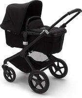 Bugaboo Fox 2 kinderwagen met stoel en wieg - Zwart