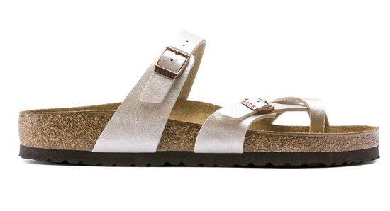 Birkenstock Mayari Dames Slippers Regular Fit - White Maat 40 c4MDbX