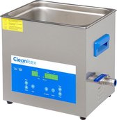 Cleanitex CXD10 - 10 liter | Professionele ultrasoon reiniger met een krachtige reiniging (Ultrasoonbad, ultrasoon baden, reinigingsbad, ultrasone reiniger, carburateur reinigers, ultrasonic cleaner injectoren, brillen apparaat, grote ultrasoonbak)