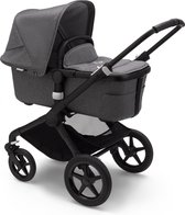 Bugaboo Fox 2 kinderwagen met stoel en wieg - Zwart / Gemȇleerd Grijs