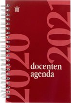 Ryam Docentenagenda - Lerarenagenda - Schooljaar 2020-2021 Spiraal - ROOD (12cmx19cm)