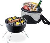 All-in-one picknick-grill en koeltas
