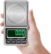 Best Berry® Professionele Precisie Weegschaal Digitaal - 0.01 > 500 gram - Mini Keukenweegschaal - Met USB-kabel
