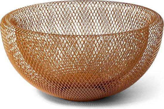 SENZA Fruitschaal draad - goud