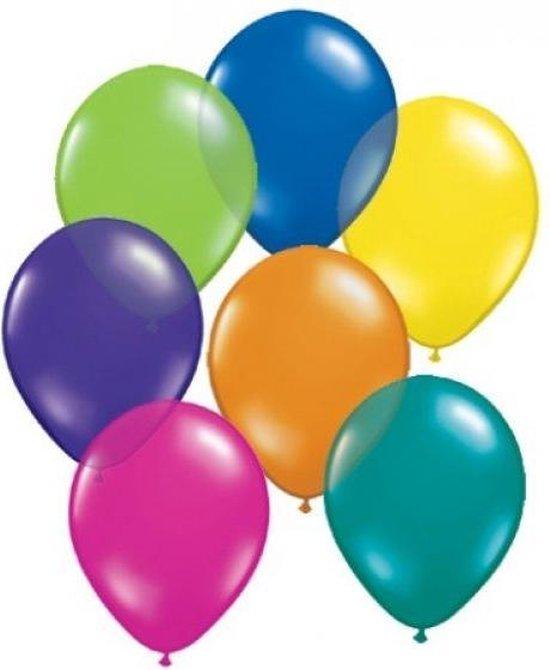 30 x gekleurde ballonnen - verschillende kleuren - feestje