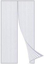 Luxe Deurhor Magnetisch - Horgordijn – Vliegengordijn – Hordeur - 210 x 100 - Wit