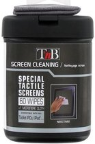 TnB NEECTAB2 Tablet 60 Cleaning Wipes Box 1 Microfiber