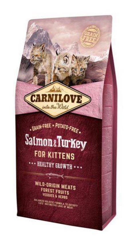 Carnilove Cat Salmon/Turkey Kittens 6 kg