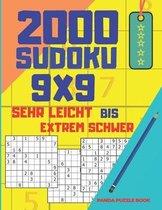 2000 Sudoku 9x9 Sehr Leicht Bis Extrem Schwer