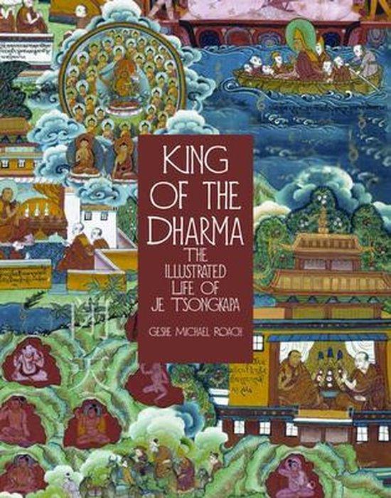 Boek cover King of the Dharma van Gesha Michael Roach (Paperback)