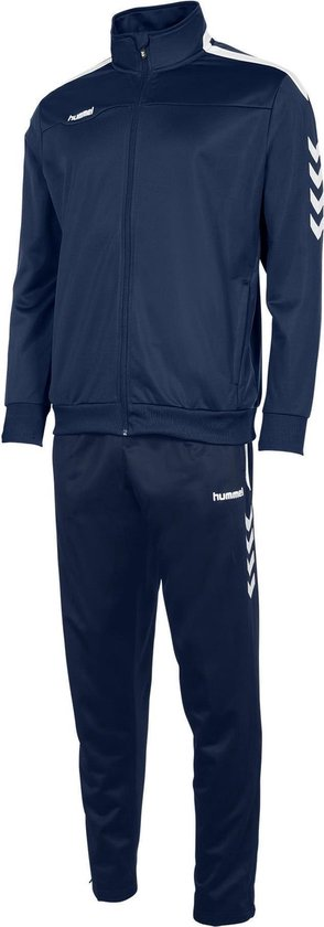 hummel Valencia Polyester Suit Trainingspak Unisex - Maat M