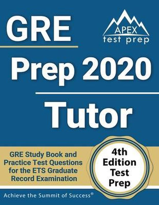 GRE Prep 2020 Tutor