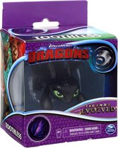 Hoe tem je een draak mini dragon Toothless 7 cm - Legends Evolved
